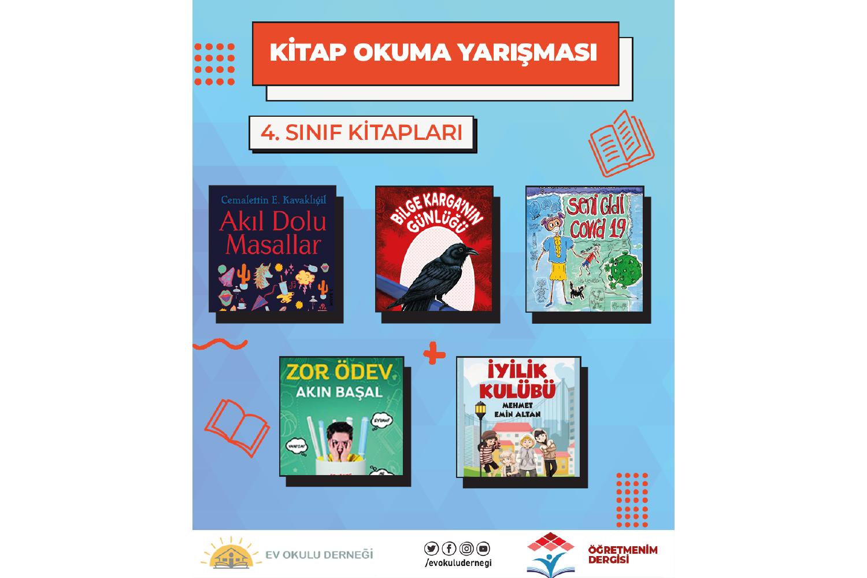 Kitap Okuma Yarışması 4. Sınıf Kitapları
