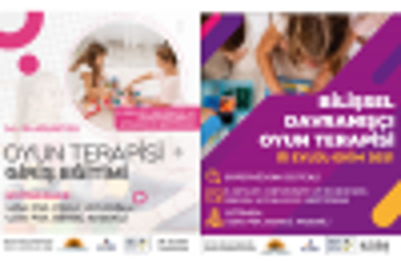 Oyun Terapisi Giriş + Bilişsel Davranışçı Oyun Terapisi Programları