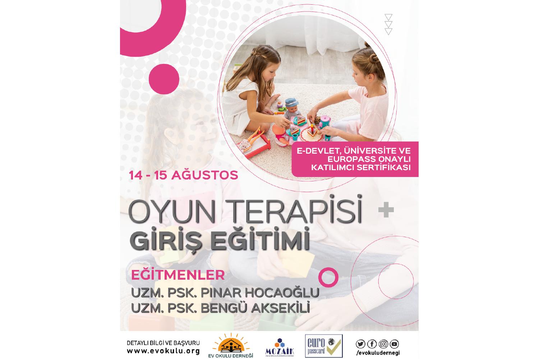 Oyun Terapisi Giriş Programı - Europass Kart Ayrıcalıklı
