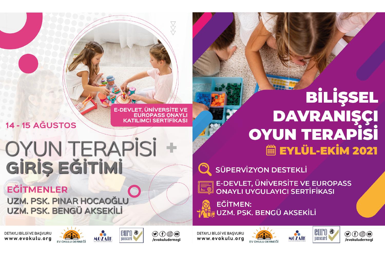 Oyun Terapisi Giriş + Bilişsel Davranışçı Oyun Terapisi Programları ( KİM )