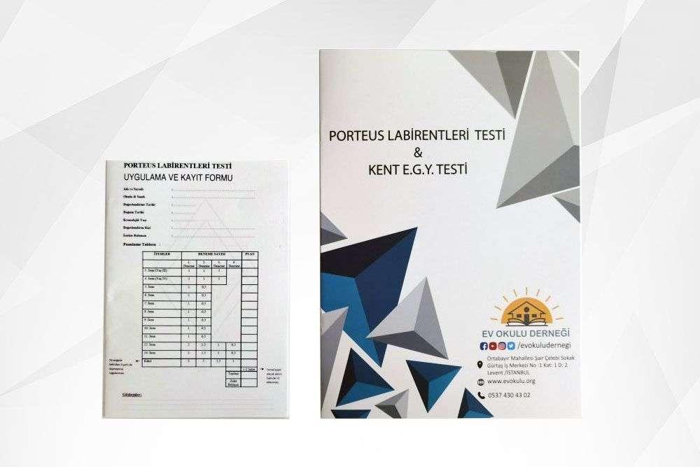Kent E. G. Y. Testi ve Porteus Labirent Testi Materyali