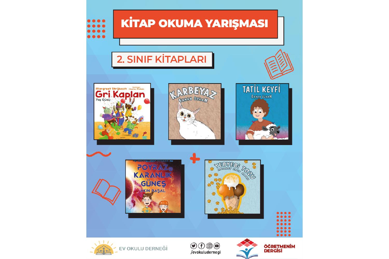Kitap Okuma Yarışması 2 Sınıf Kitapları