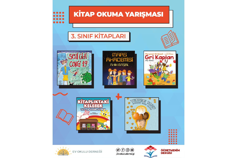 Kitap Okuma Yarışması 3. Sınıf Kitapları