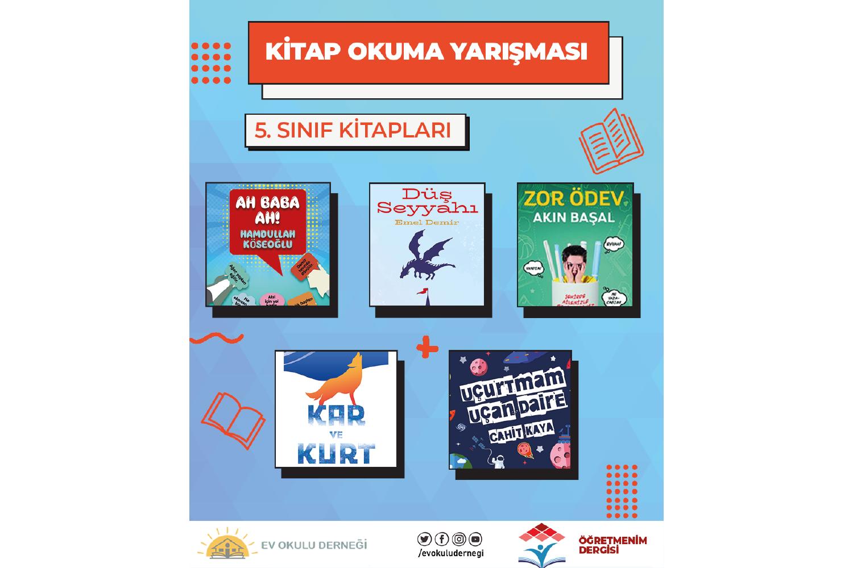 Kitap Okuma Yarışması 5. Sınıf Kitapları