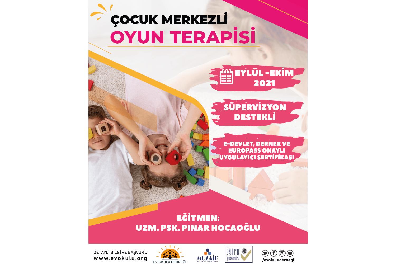 Çocuk Merkezli Oyun Terapisi Programı
