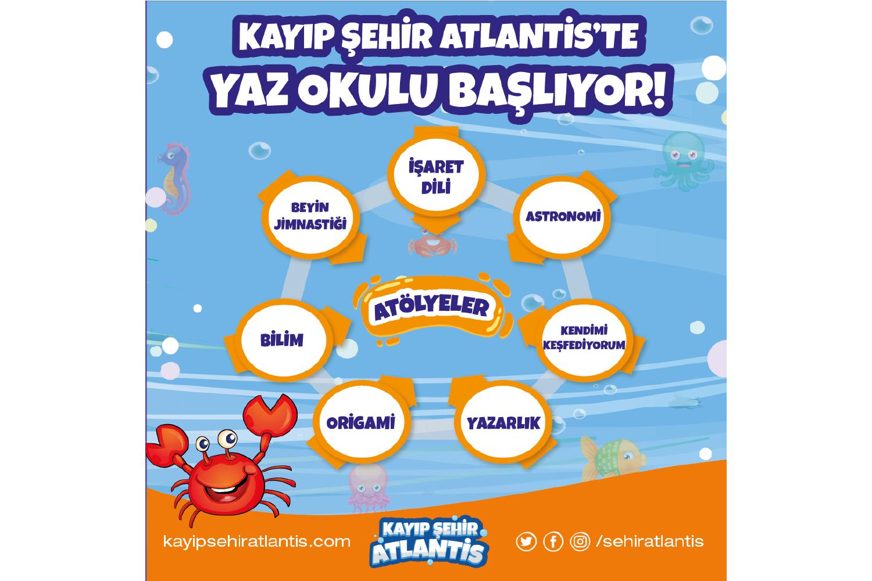 Kayıp Şehir Atlantis Yaz Okulu Programı ( KİM )