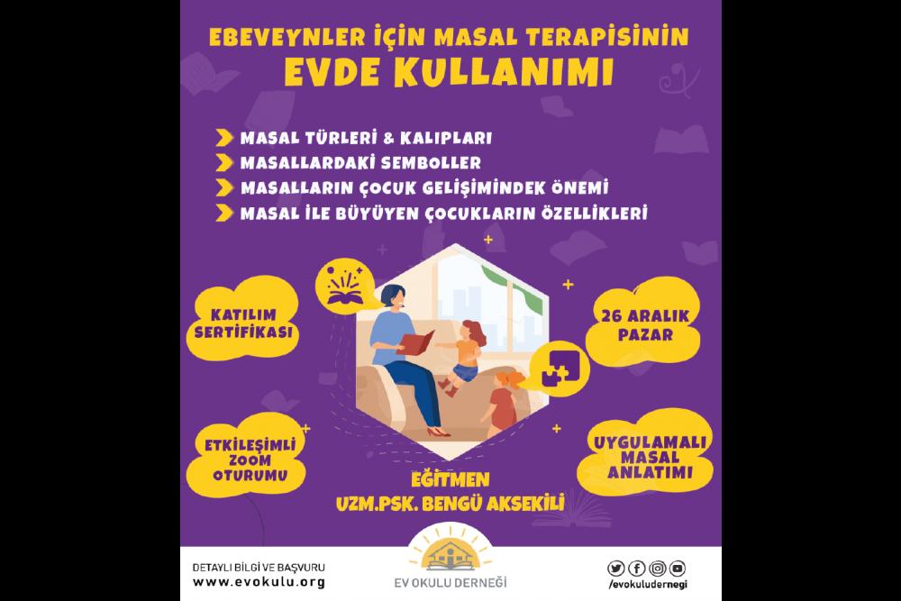 Ebeveynler için Masal Terapisinin Evde Kullanımı Programı
