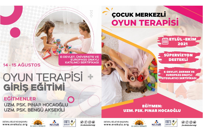 Oyun Terapisi Giriş + Çocuk Merkezli Oyun Terapisi Programları ( KİM )