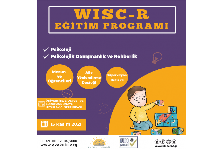 WISC-R Wechsler Çocuklar İçin Zekâ Ölçeğİ Programı - Europass Kart Ayrıcalıklı